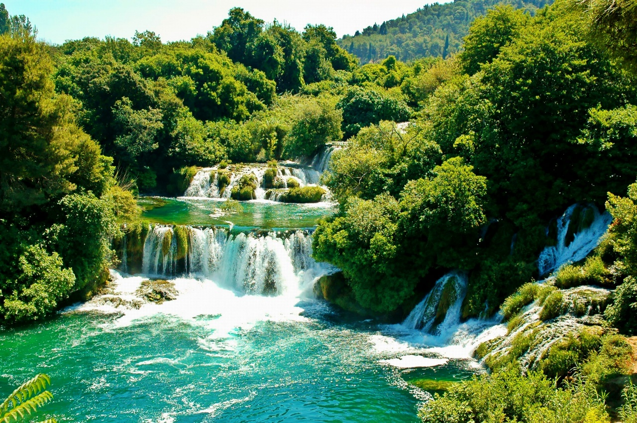 Krka national park croatia reviews for Chutes victoria piscine du diable