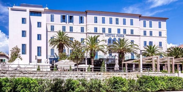 The Hotel Park Split Is A Traditional First Cl In Centre Of Right Next To Famous Bačvice Beach
