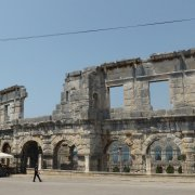 Pula arena from the outside 2