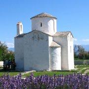 Church of the Holy Cross in Nin