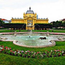 Art Pavilion in Zagreb