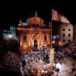 The stage of the 66th Dubrovnik Summer Festival!