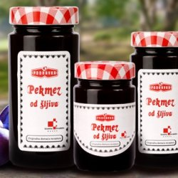 Smooth plum jam (Podravka)