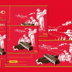 Mikado chocolate with rice (Zvečevo)