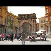 Arch of Sergi - Pula, Croatia