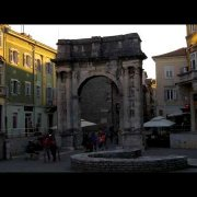 The Arch of the Sergians, Pula, Croatia
