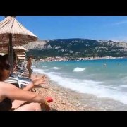 Otok Krk-Plaža Baška-2014