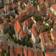 Varaždin footage from air