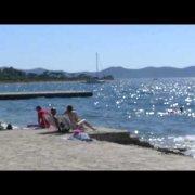 Borik beach Kroatien (bei Zadar)