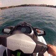 Jet-ski - Porec, Croatia - GoPro