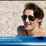 Prilog TV Šibenik o otvorenju gradske plaže Banj