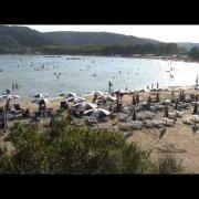 rajska plaża w Lopar na wyspie Rab