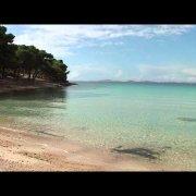 Pláž Slanica, Murter, Chorvatsko