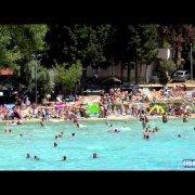 Plaża Slanica na wyspie Murter czerwiec 2014