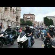 Croatia Bike Week -Defile, Pula.