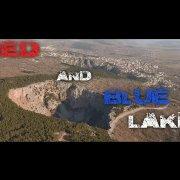 Red and Blue lake Imotski
