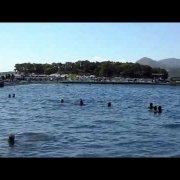 Croatia Dubrovnik, Copacabana Beach - Хорватия Дубровник, пляж