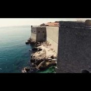 Dubrovnik Old Town Aerial
