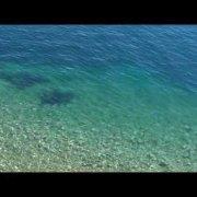 Island Rab/The town of Rab - Beach beneath the city walls (Città di Rab - Spiaggia)