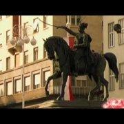 Zagreb - The main city square