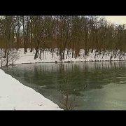Park Maksimir 3. jezero - zima