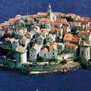 Korčula City.  Korčula island, Croatia.