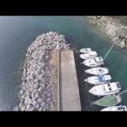 Kostrena iz zraka - video snimljen bespilotnom letjelicom