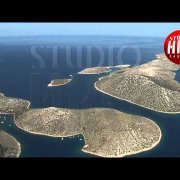 NATIONAL PARK KORNATI - AERIAL FOOTAGE
