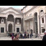 Diocletian's Palace, in Split, Croatia