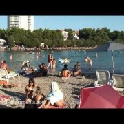 Blue beach - Vodice, Croatia