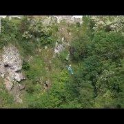 Zipline Pazinska jama - Zip line Abyss of Pazin - Zipline Paziner Höhle