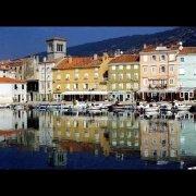Cres town. Cres island, Croatia.