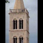 Zadar  (HR) - crkva sv. Donata - zvonenie 20:00    2/2