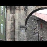 Arch of Sergie in Pula, Croatia
