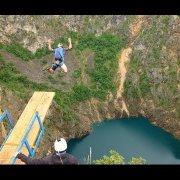 Base Jump w Crvene Jezero - Chorwacja