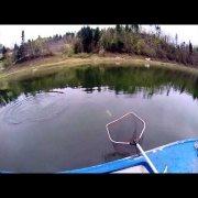 Lokvarsko lake 62 cm trout- Lokvarsko jezero pastrva 62 cm