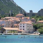 Croatia. Mali Ston, Peljesac peninsula.