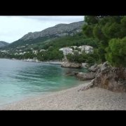 Dugi Rat Beach Brela, Croatia