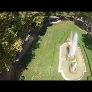 Park Zrinjevac filmed with JAZZ DDG quadcopter
