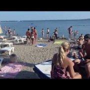 Пляж Bijeca в Медулине (Хорватия). Beach Bijeca, Medulin (Croatien)