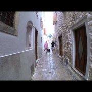 Alleys of Krk town, Croatia
