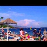 A look at the beach of Viganj/Croatia
