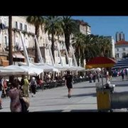Riva Split -- Seaside promenade of Split Croatia