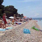 Hrvatska, Croatia, Horvátország, Makarska riviera, Brela, Dugi rat beach (punta rata)